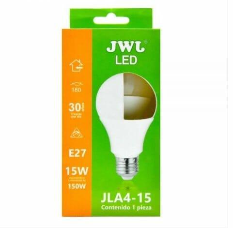 Foco led omnidireccional 15w luz cálida jla4-15c jwj