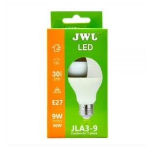 Foco led 9w luz blanca jla3-9b marca jwj