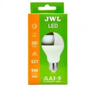Foco led 9w luz cálida jla3-9c marca jwj