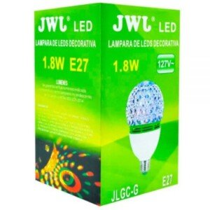 Foco led giratorio color rojo jlgc-gr marca jwj