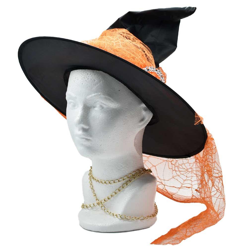 Sombrero de bruja halloween h4424 ele gate