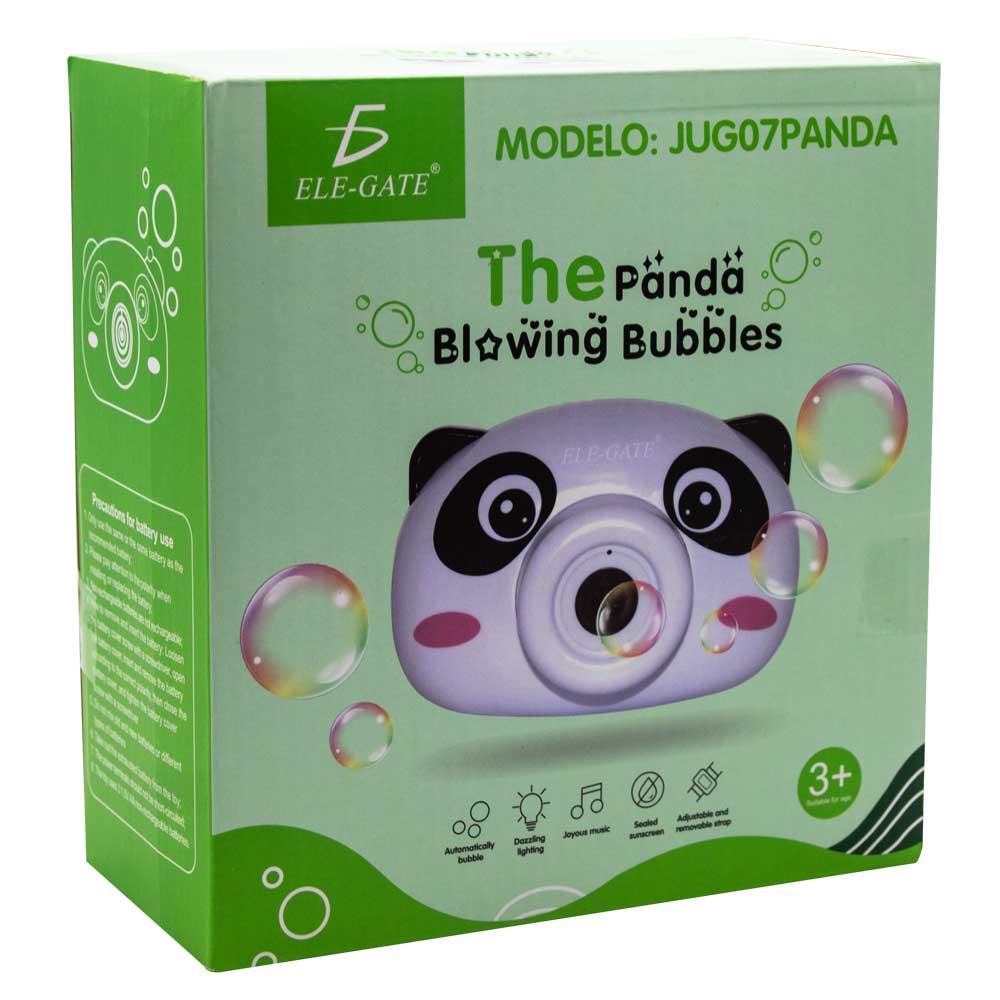 Maquina de burbujas automatica forma camara panda jug.07.panda