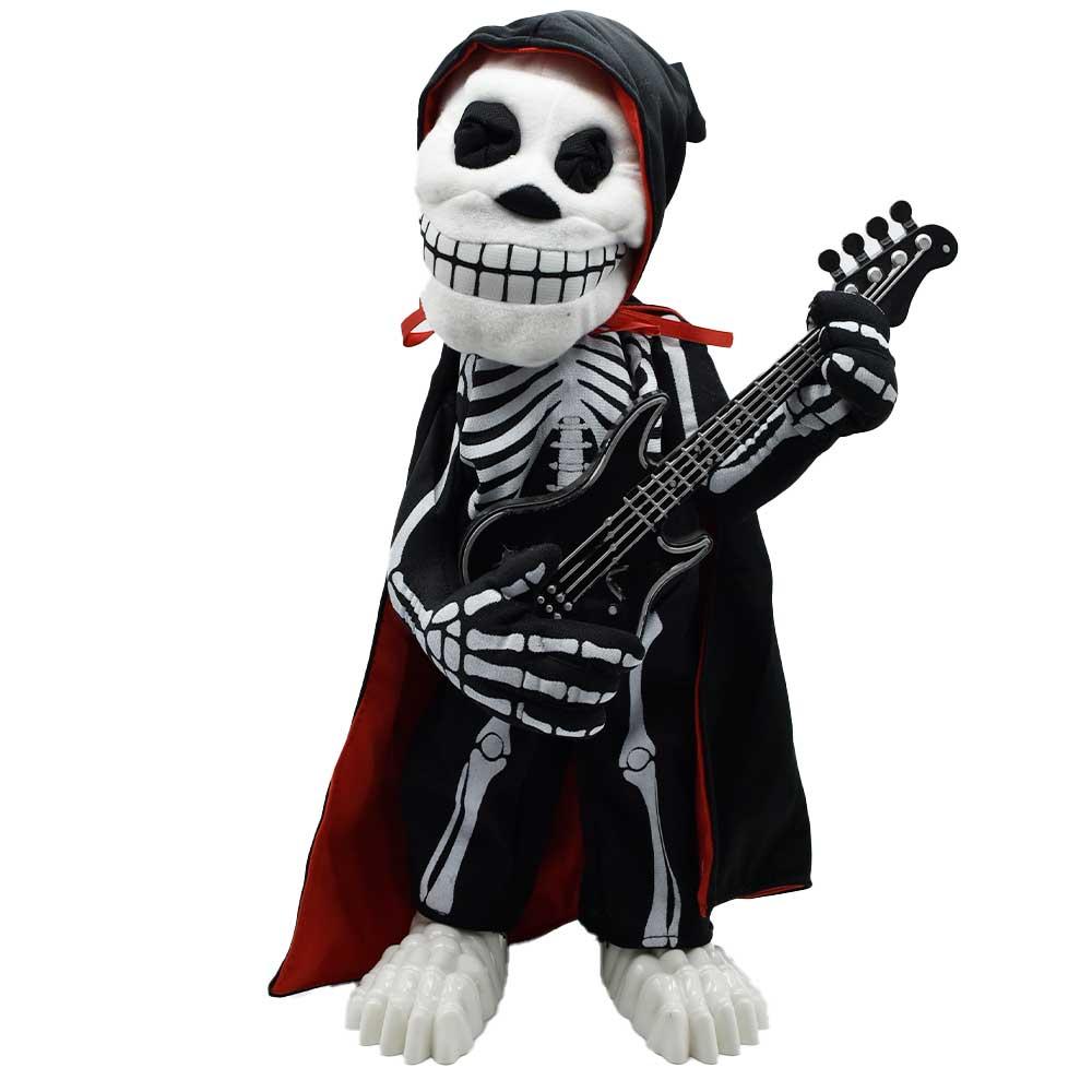 Monitocalavera guitarra adorno de halloween lq065 ele gate