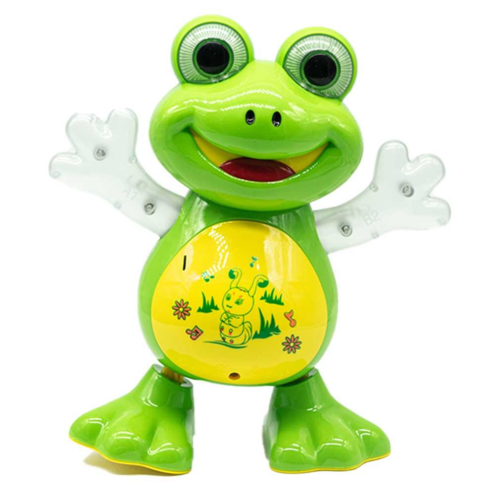 Ranita musical frog dancing yj-3008 generico