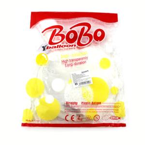 Paquete c/50pz de globo trasparente zj-0508