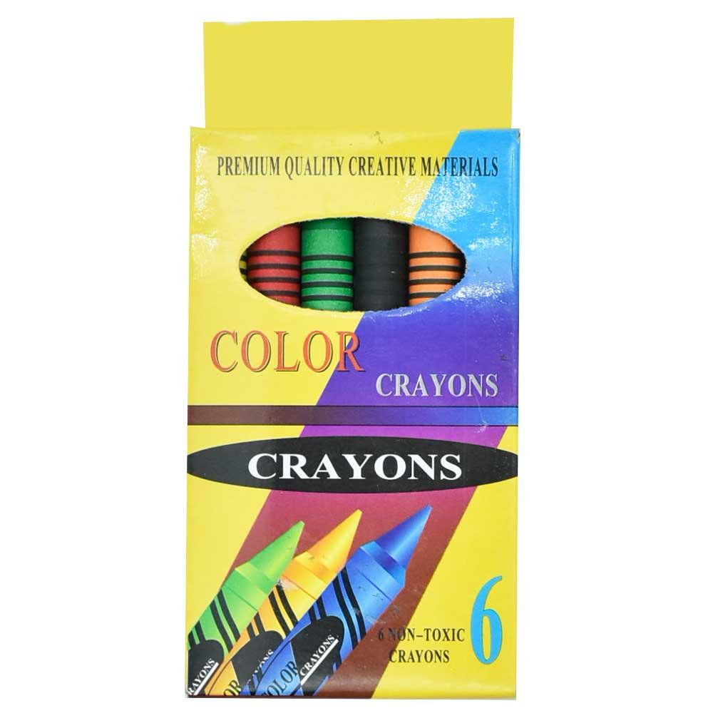 Paquete de crayolas c/6pz zp-0135 s-2006a